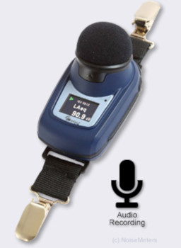 dBadge2-PLUS Noise Dosimeter